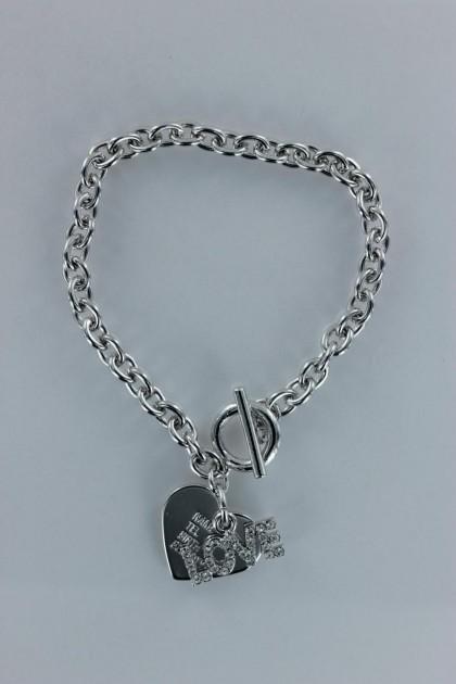 Love nametag bracelet