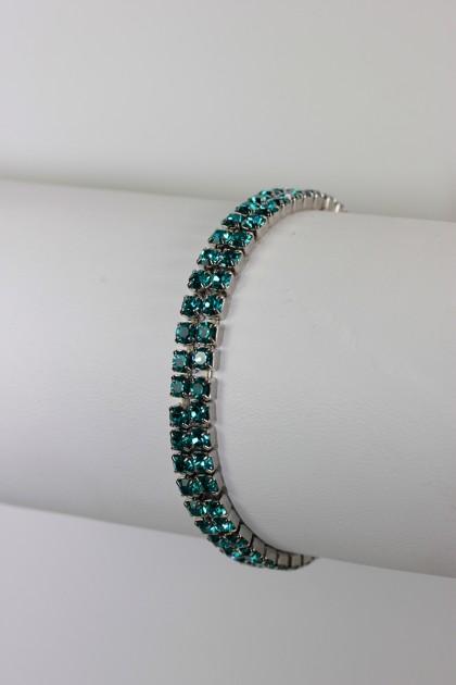2 line baby stretch bracelet for wedding