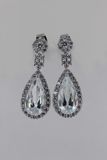 Waterdrop Wedding Stud Earring