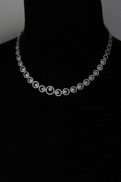 Circle CZ Necklace Wholesale