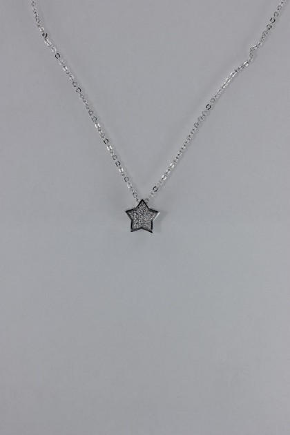 Pavement star pendant