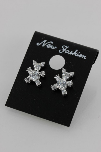 Bear Traditional AAA Stud Earring