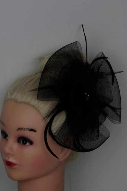 Limited Facinator Clip Rich Look with Feather