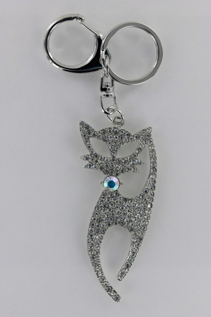 Sexy Cat Key Chain