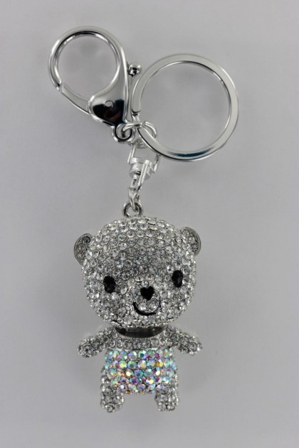 Bear 3D Key Chain