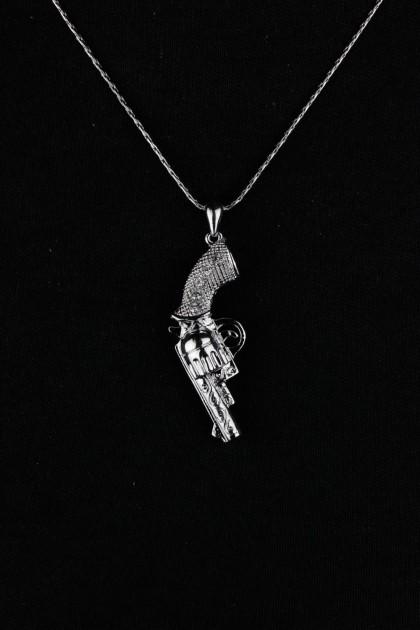 Cuttie Gun Necklace