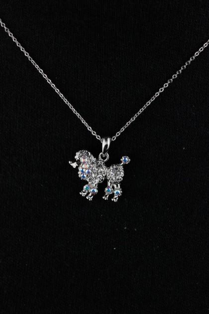 Puppy Pendant Necklace