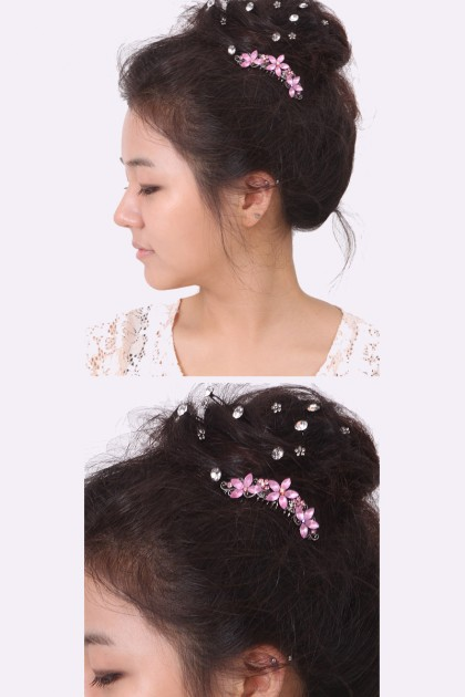 Flower Girl Up Comb