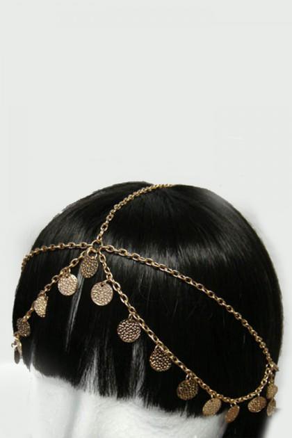 Antique cleopatra headchain