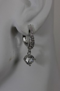 Simple dangle lover Laver Style Earring