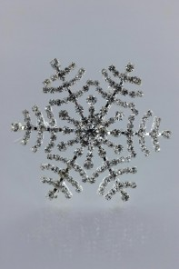 Snow flake brooch