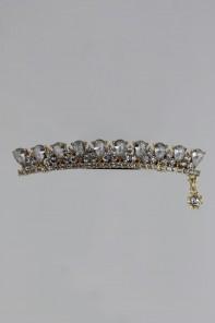 tiara hair barrette