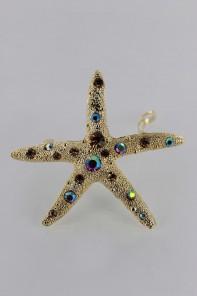 Small Starfish Barrette