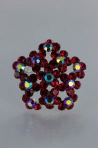 Rose of sharon brooch 2
