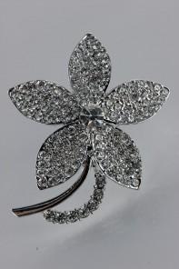 Jasmine brooch