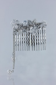 Flora flora side comb jewelry