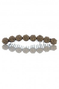 Snow Ball Hair Comb Accessories