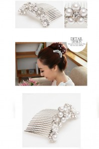 Flower Garden Hair Comb Accessories