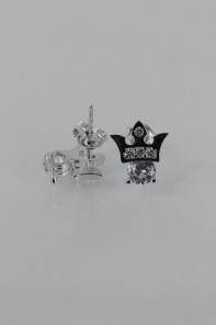 Crown CZ Earring
