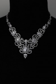 Queen CZ Necklace Wholesale