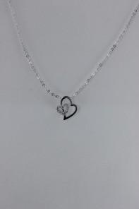 Heart CZ Pendant