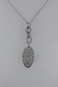 Mashed CZ Pendant Necklace Wholesale