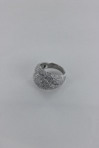 Pavement Wave CZ Ring Wholesale