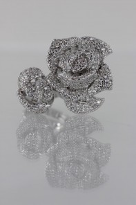 Special Rose CZ Ring