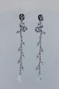 fantastic butterfly CZ earring