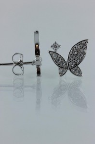 Elegancy buterfly CZ Earring