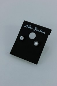 4MM AAA Quality CZ Earring