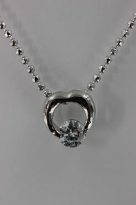 Cuttie CZ Pendant Necklace