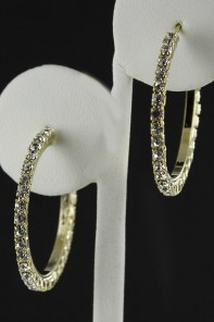 30MM HOOP EARRING