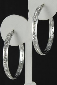 40MM HOOP EARRING