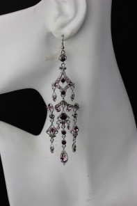 Egypitan Red Carpet Hook Earring