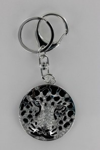 Tiger Face Key Chain