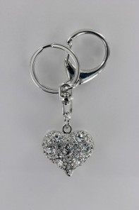 Mini Heart 3D Key Chain