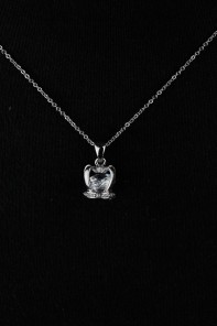 3D Crown Necklace