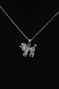 Puppy Pendant Necklace