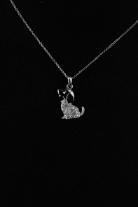 Puppy Pie Pendant Necklace