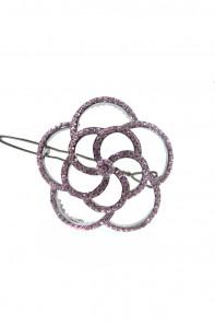 round tornado hair pin