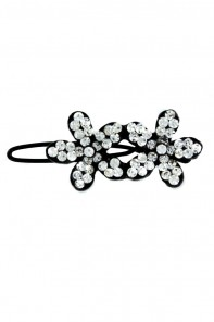 2-flower hair pin