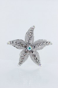 Starfish hair pin jewelry