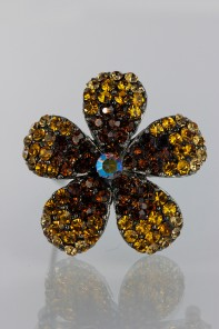 Daisy gradiation hair pin jewelry