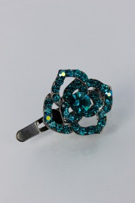 Rose magnetic hair pin