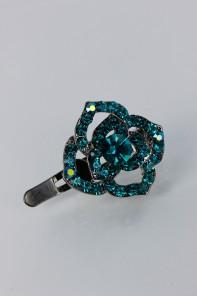 Rose magnetic hair pin