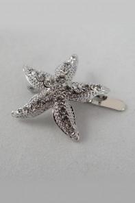 Starfish magnetic hair pin
