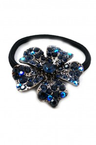 Large flower ponytail jewelry
