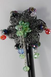 Geisah Style Flower Hair Stick