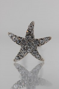 Small Starfish Hair Pin